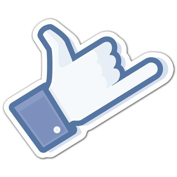 Aufkleber: Shaka Facebook
