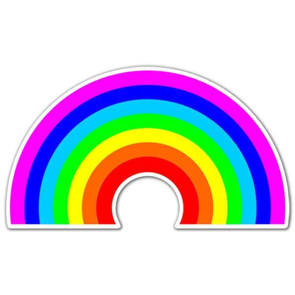 Aufkleber: Regenbogen