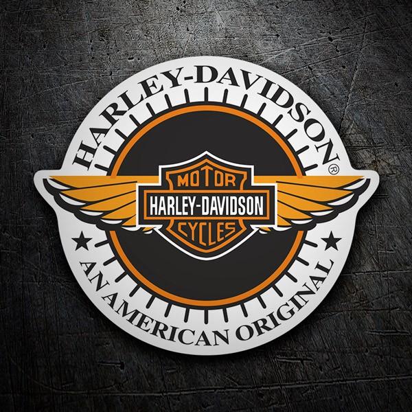 Aufkleber: Harley Davidson American Original