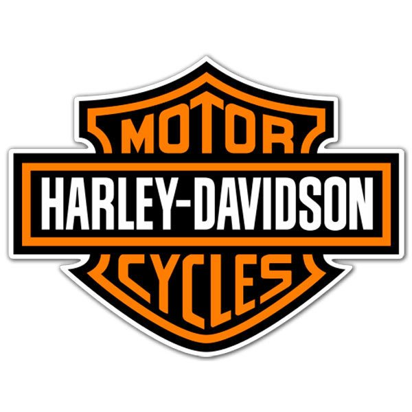 Aufkleber: Harley Davidson 1