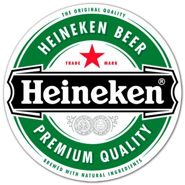 Aufkleber: Heineken