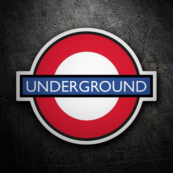 Aufkleber: Underground