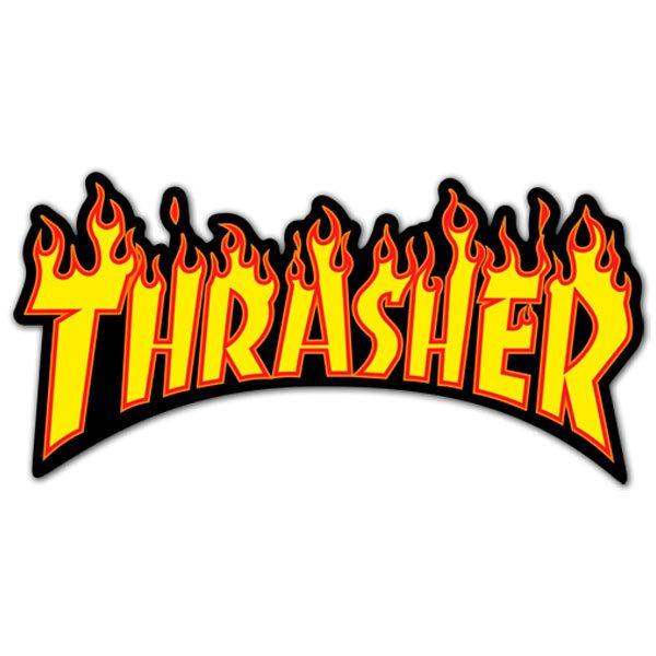 Aufkleber: Thrasher 6