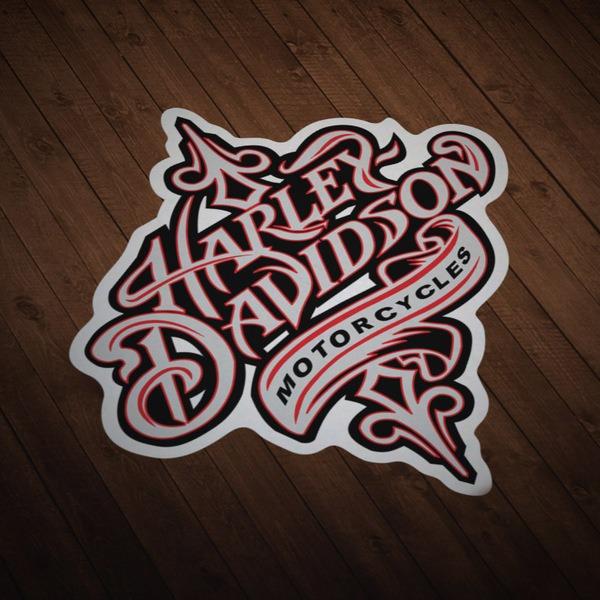 Aufkleber: Harley Davidson Motorcycles