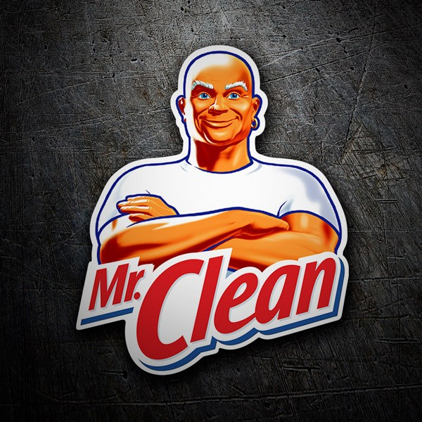 Aufkleber: Mr. Clean 1