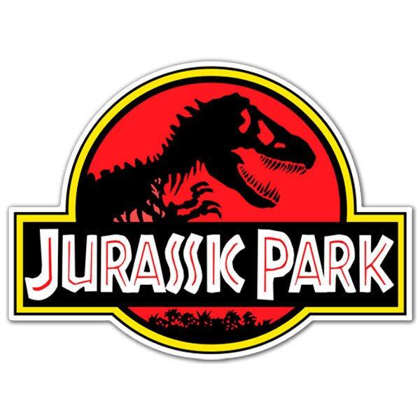 Aufkleber: Jurassic Park