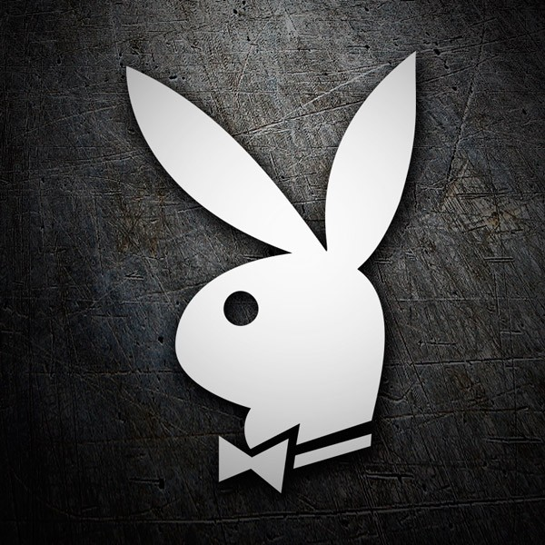 Aufkleber: Playboy