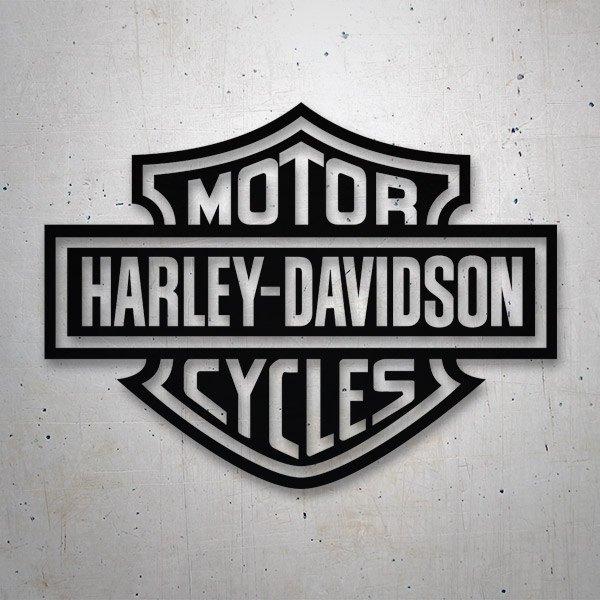 Aufkleber: Harley Davidson 2