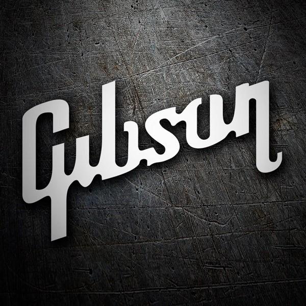 Aufkleber: Gibson