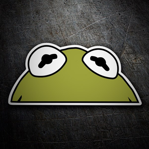 Aufkleber: Kermit der Frosch