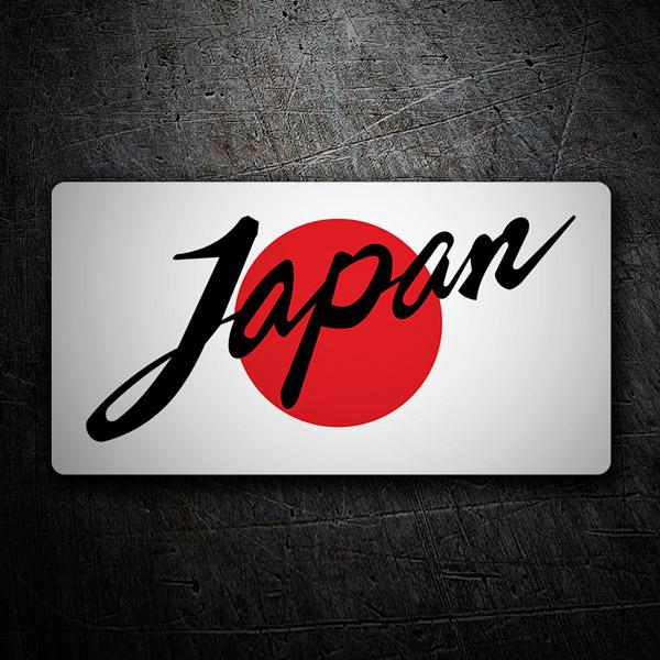 Aufkleber: Japan Flag