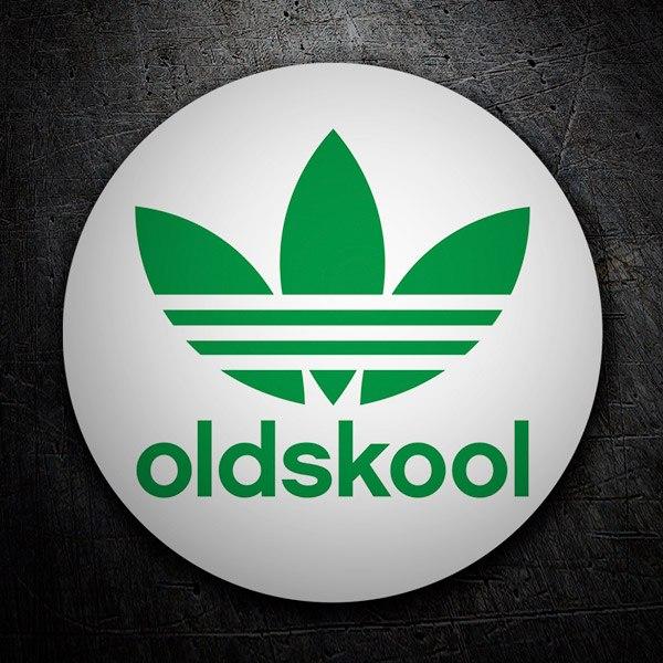 Aufkleber: Oldskool Adidas