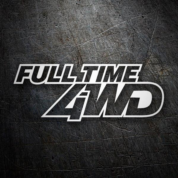 Aufkleber: Full Time 4WD