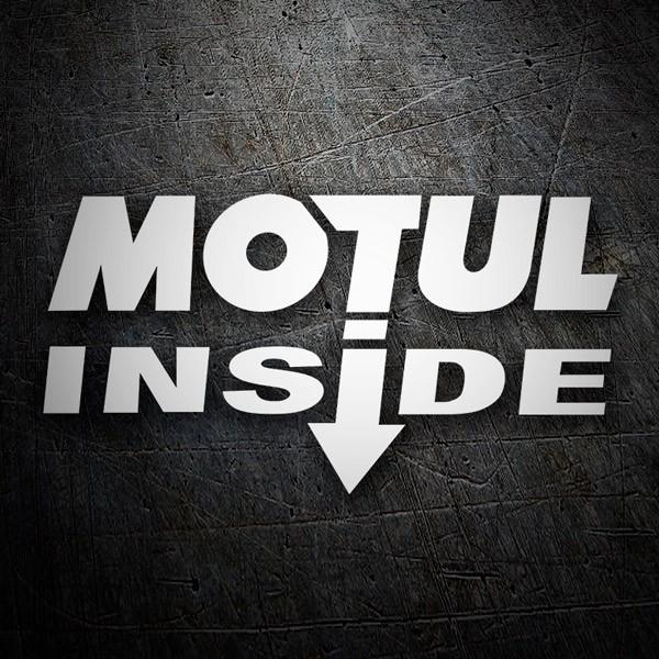 Aufkleber: Motul Inside