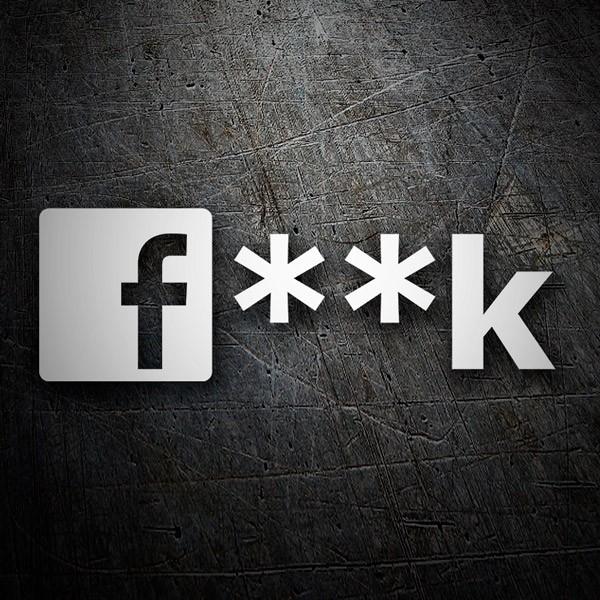 Aufkleber: Fuck or Facebook