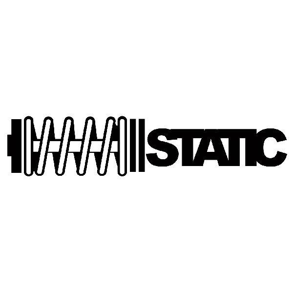 Aufkleber: Static 2