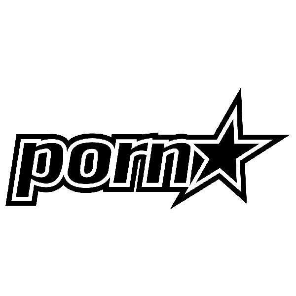 Aufkleber: Porn Star 2