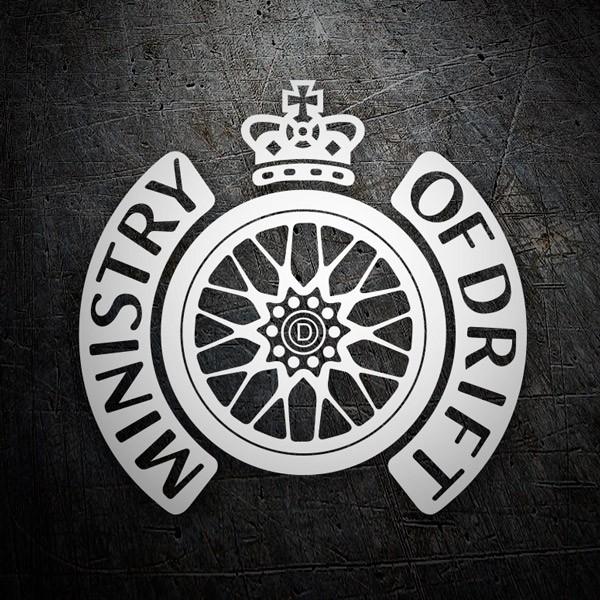 Aufkleber: Ministry of Drift