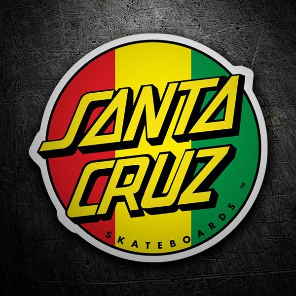 Aufkleber: Santa Cruz Jamaica
