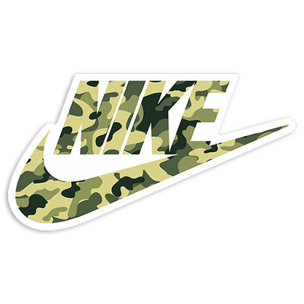 Aufkleber: Nike Camo