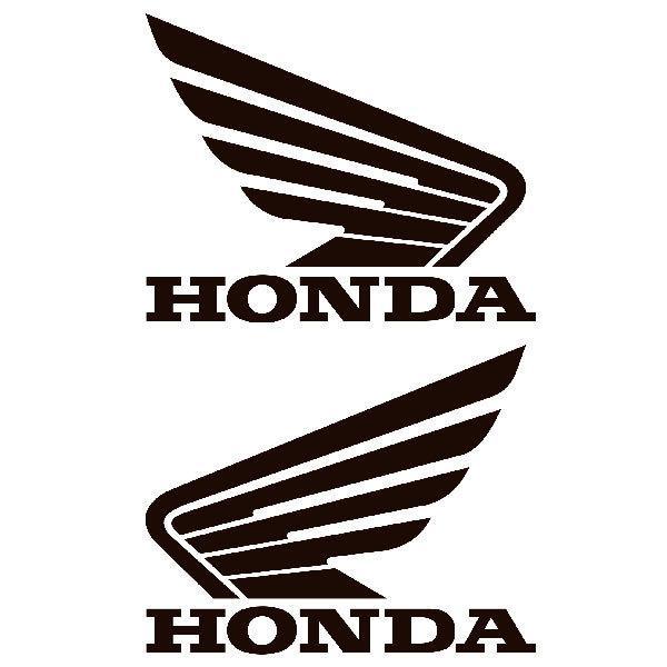 Aufkleber: Kit Honda mit Flügel Tank
