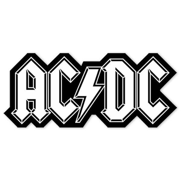 Aufkleber: ACDC 2