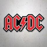 Aufkleber: Aufkleber AC/DC