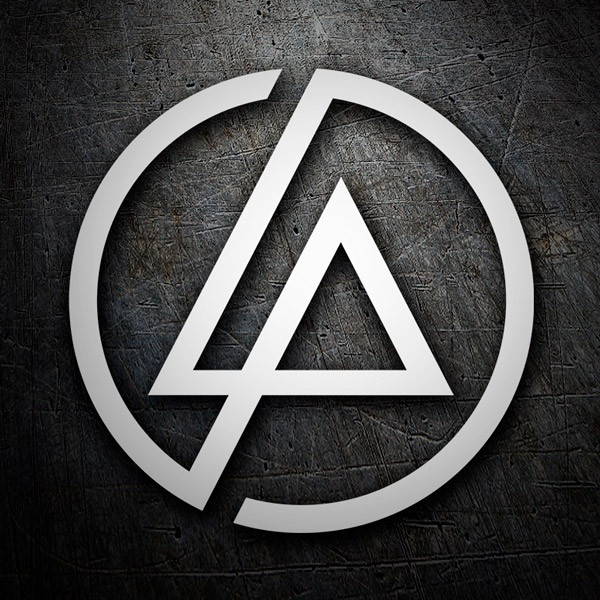 Aufkleber: Linkin Park logo