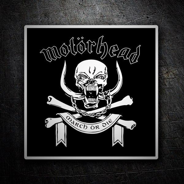 Aufkleber: Motörhead logo
