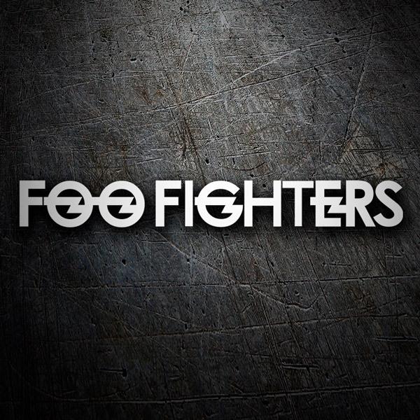 Aufkleber: Foo Fighters