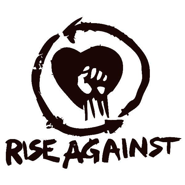Aufkleber: Rise Against