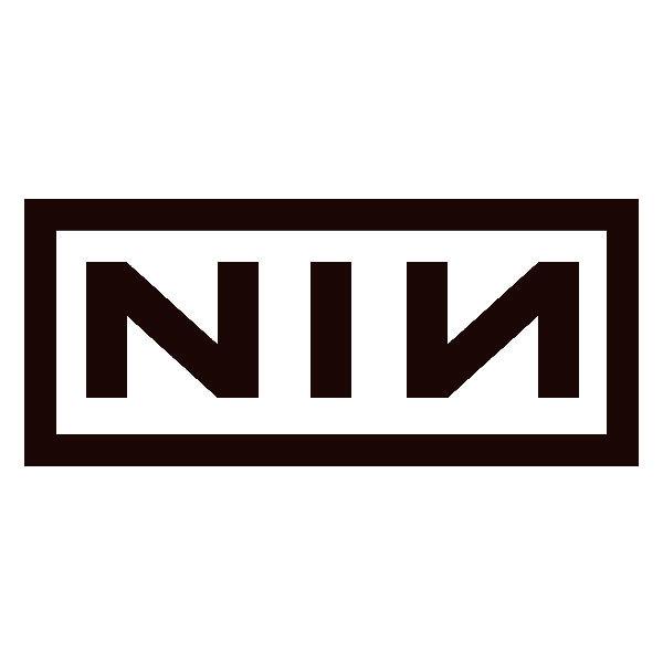 Aufkleber: Nine Inch Nails