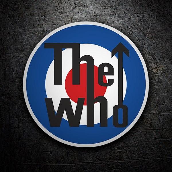 Aufkleber: The Who logo
