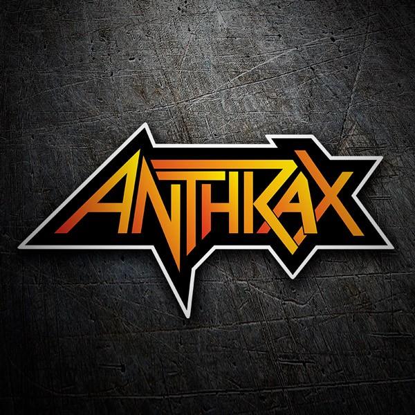 Aufkleber: Anthrax 1