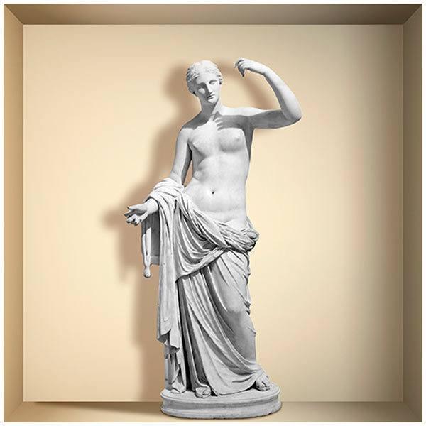 Wandtattoos: Nischen Statue der Venus