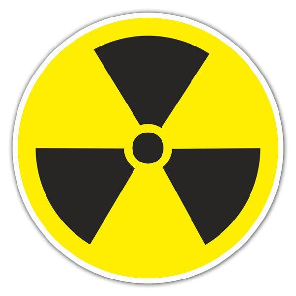 Aufkleber: Radioactive