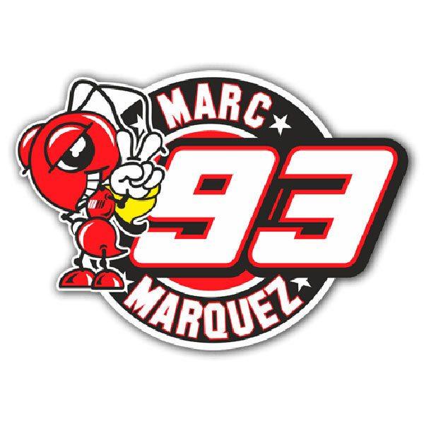 Aufkleber: Marc Marquez 93