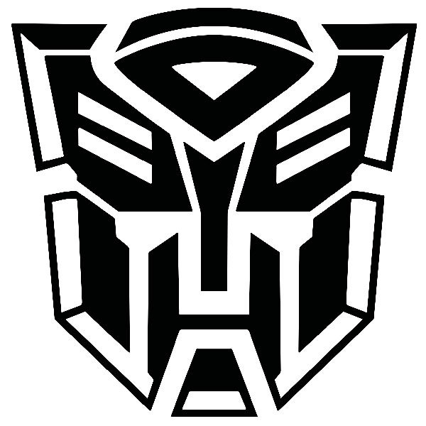 Aufkleber: Logo Transformers Autobot 2