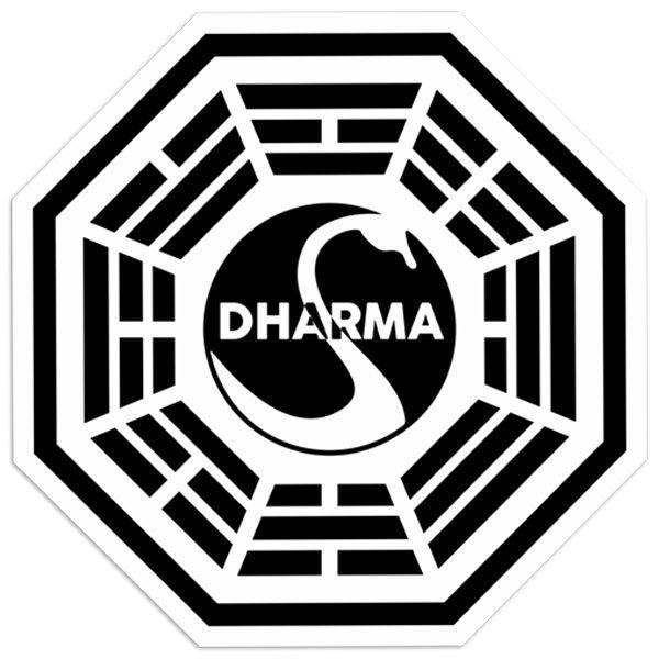 Aufkleber: Dharma Lost