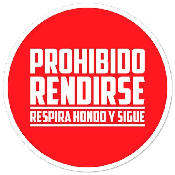 Aufkleber: Prohibido Rendirse