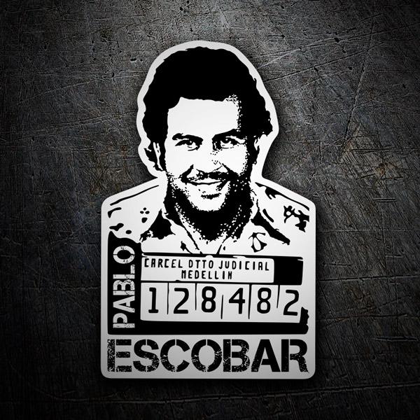 Wandtattoos: Pablo Escobar 2