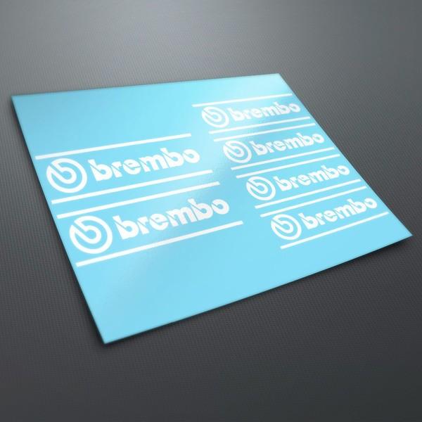 Aufkleber: Brembo Aufkleber Kit 1