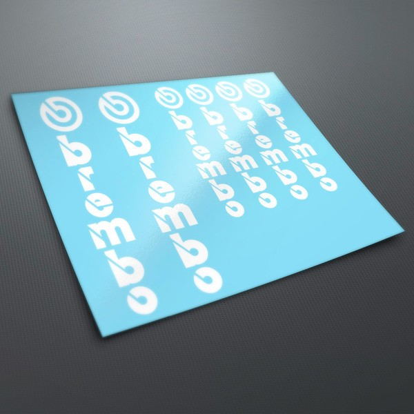 Aufkleber: Kit Aufkleber Vertikale Brembo