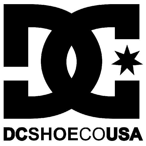 Aufkleber: DC SHOE CO USA 2