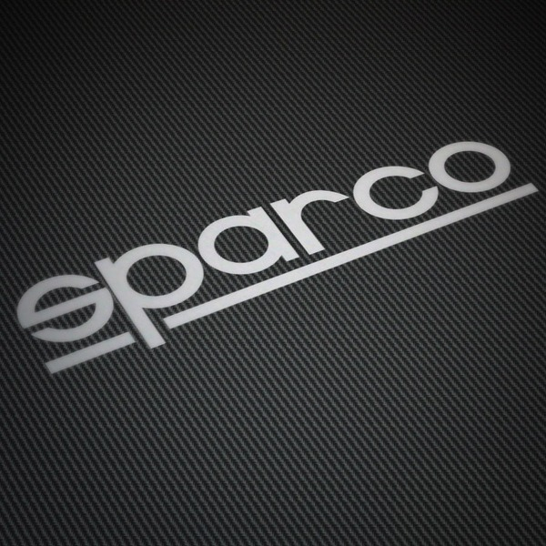 Aufkleber: Sparco thin