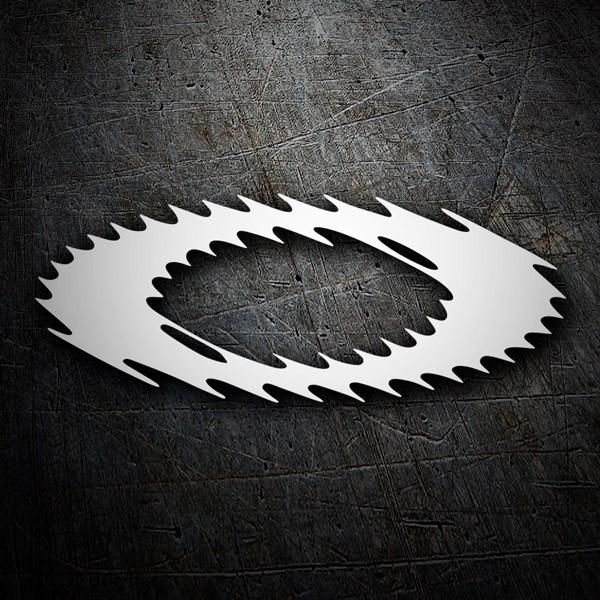 Aufkleber: Oakley logo