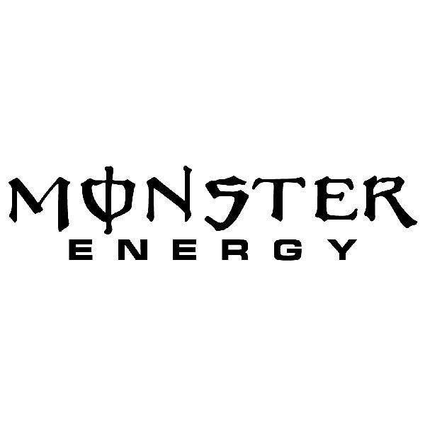 Aufkleber: Monster Energy 1