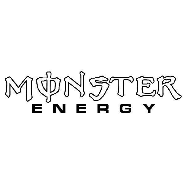 Aufkleber: Monster Energy 2