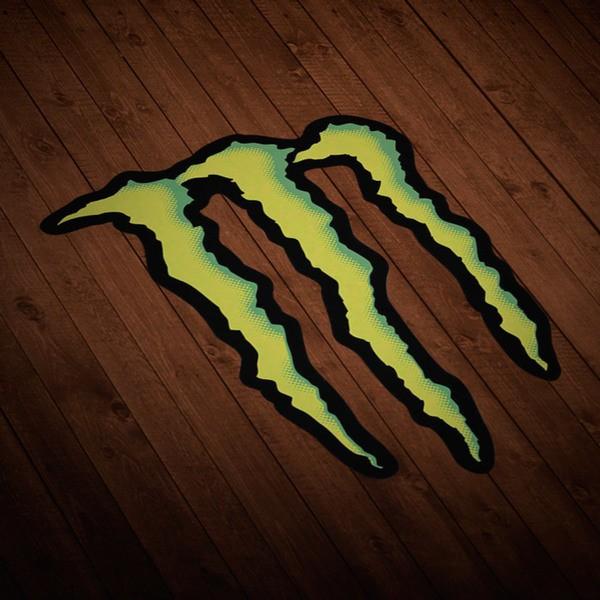Aufkleber: Monster Energy Logo 1