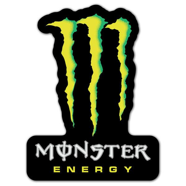 Aufkleber: Monster Energy 3